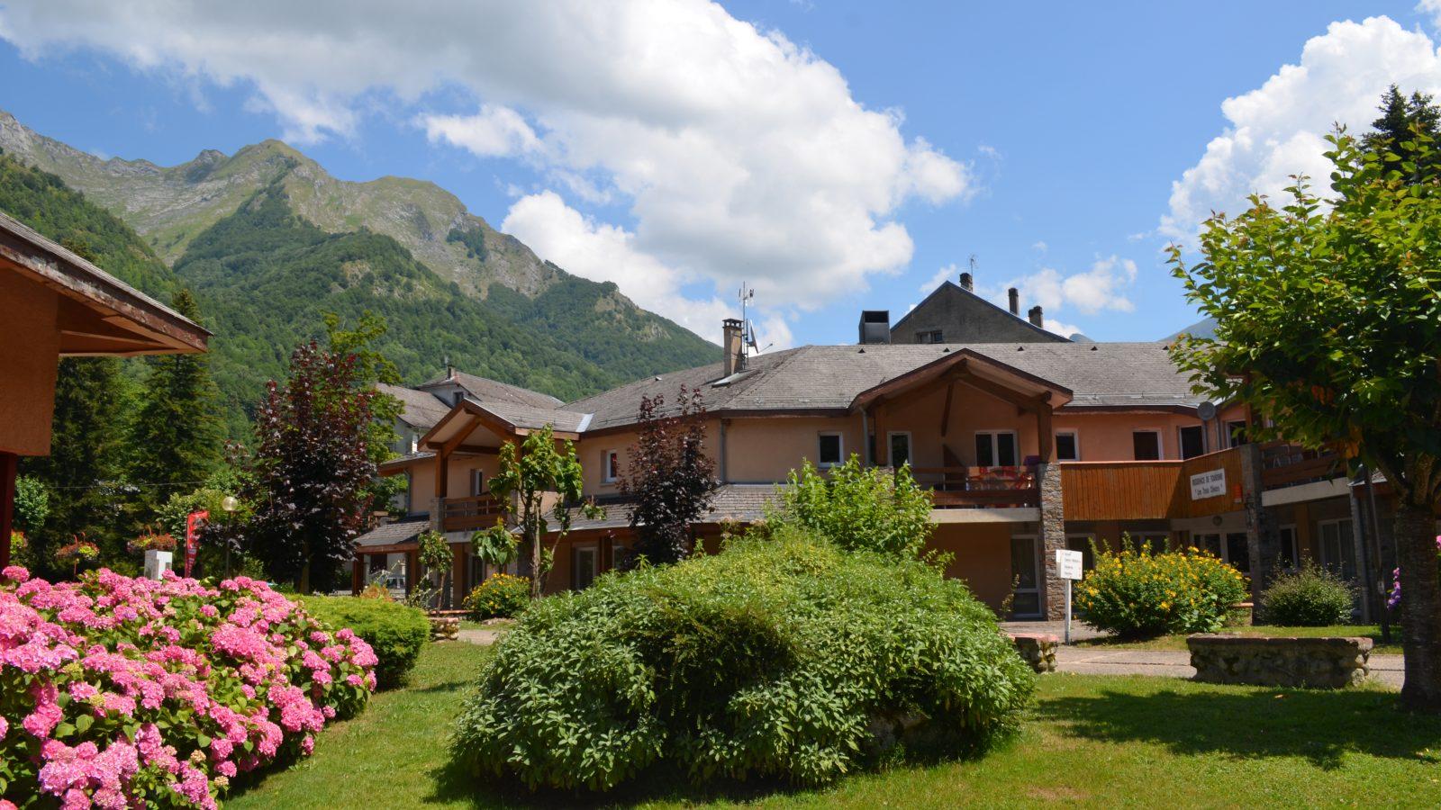 Résidence des 3 Césars Thermes Aulus-les-Bains éte Couserans Pyrénées